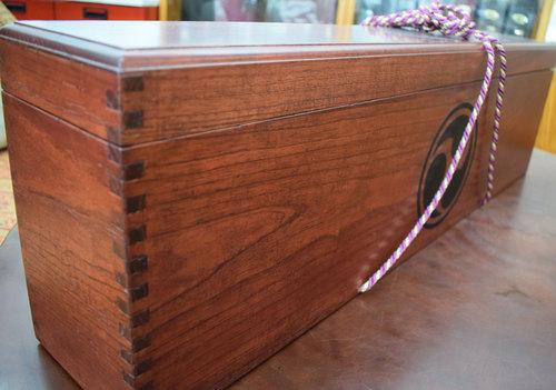 木箱2丁入れ、三線ケース